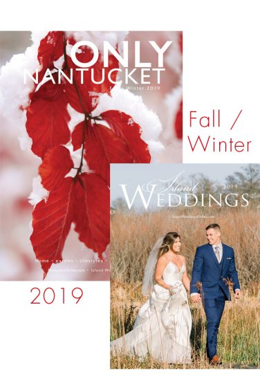 ONLY Magazine Nantucket fall 2019 with weddings