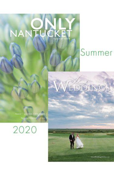 Summer ONLY Magazine Nantucket Island Weddings 2020