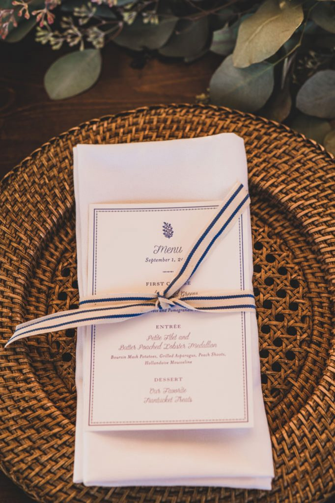 nantucket place settings