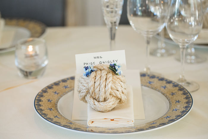 nantucket place setting