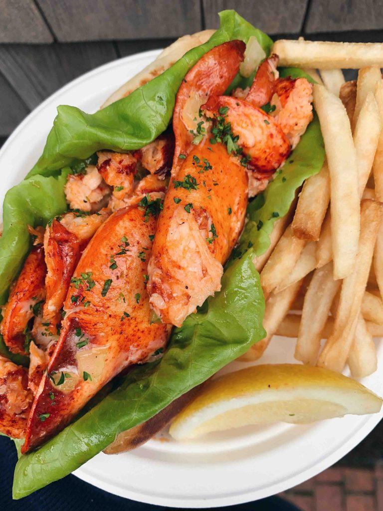 Gliddens Seafood on Nantucket Island