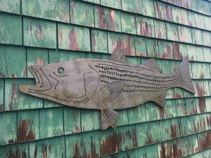 Nantucket Metal Fish Art