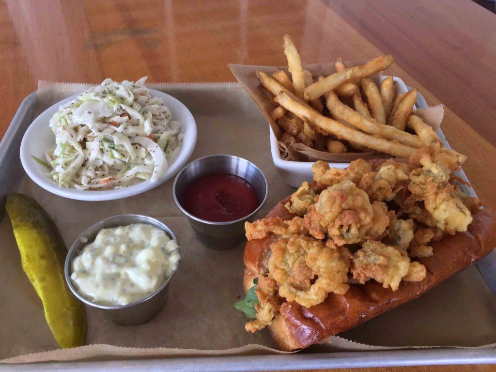 Seagrille Nantucket food menu