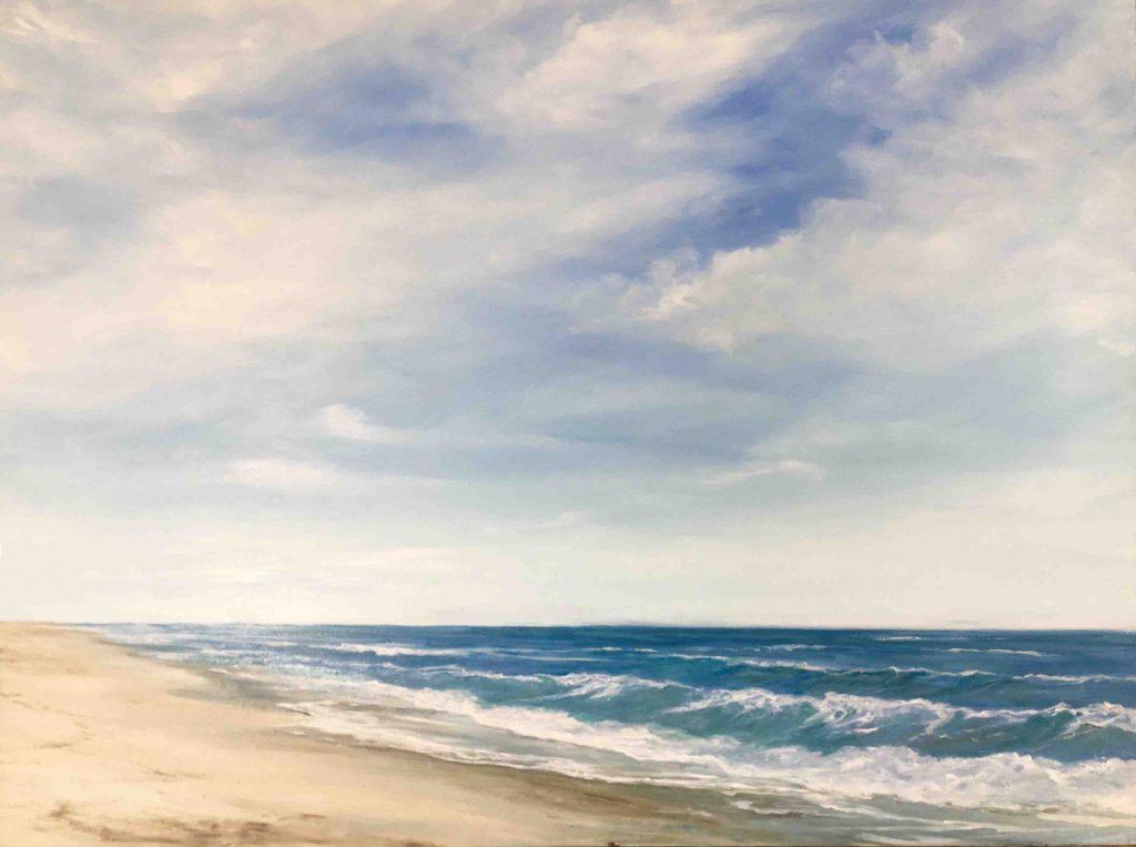 beach photo nantucket painting