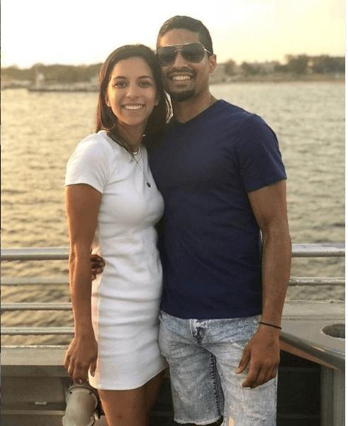 couple on the seastreak