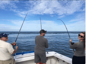 fishing on nantucket with guide