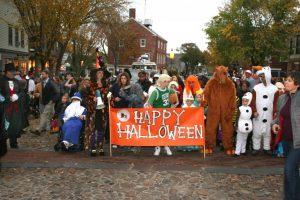 nantucket halloween parade