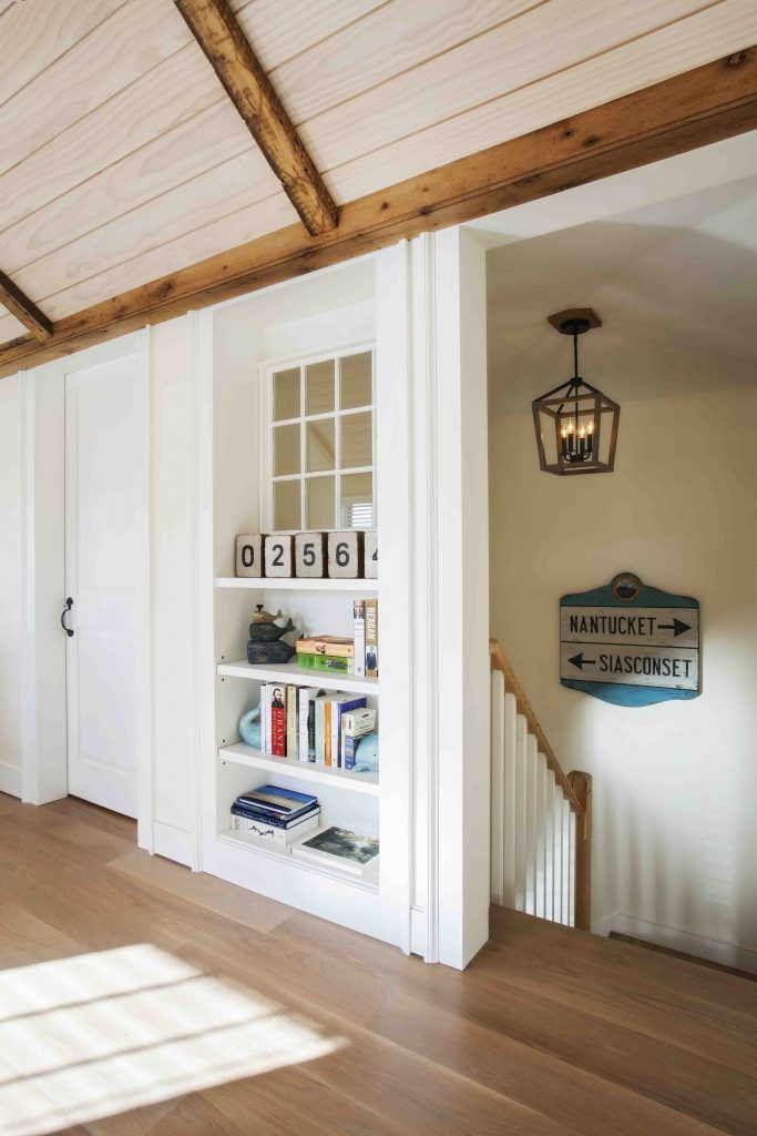 inside nantucket home