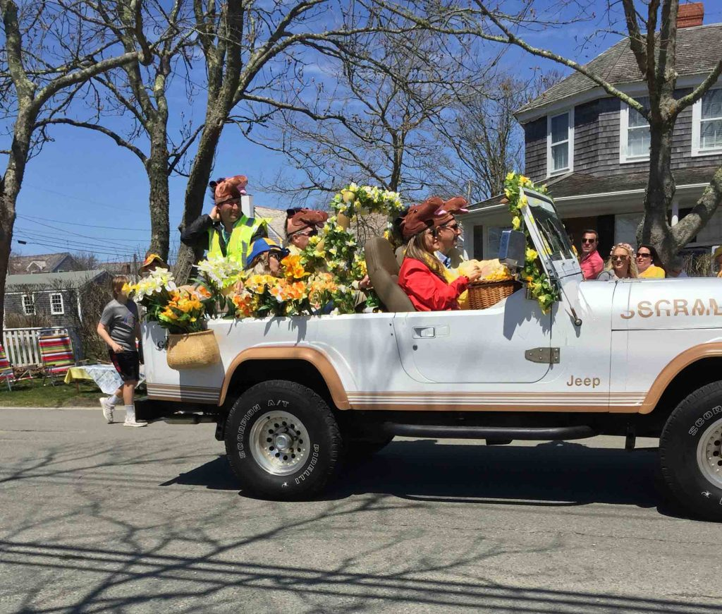nantucket daffodil parade