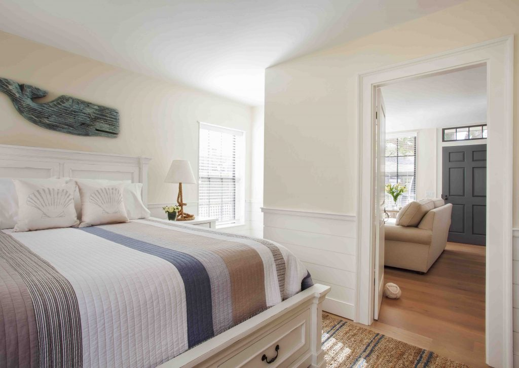 nantucket home and bedroom