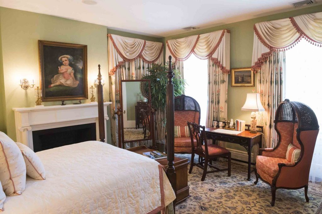 new england bedroom style