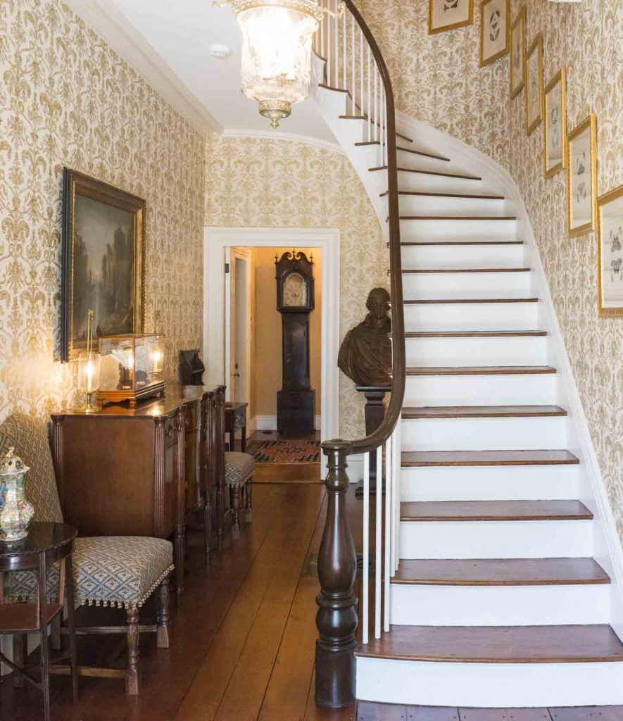 new england staircase home