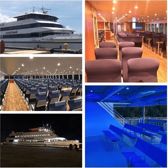 seastreak boat luxury