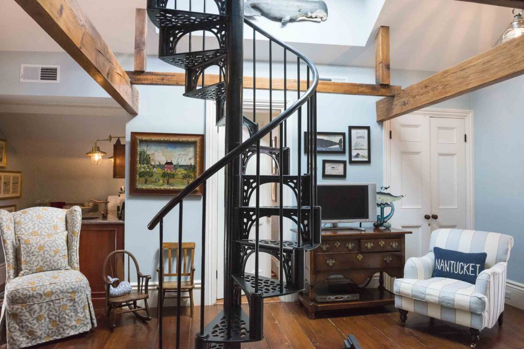 spiral staircase nantucket