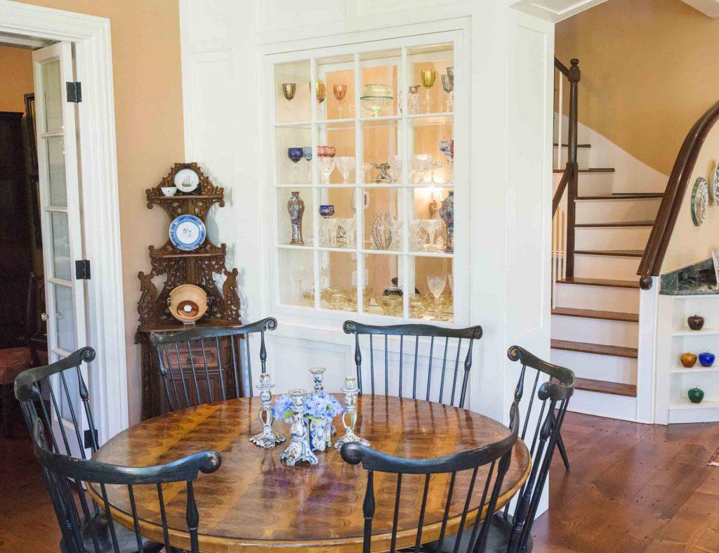 staircase nantucket home