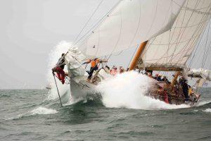 Nantucket Opera House cup high winds