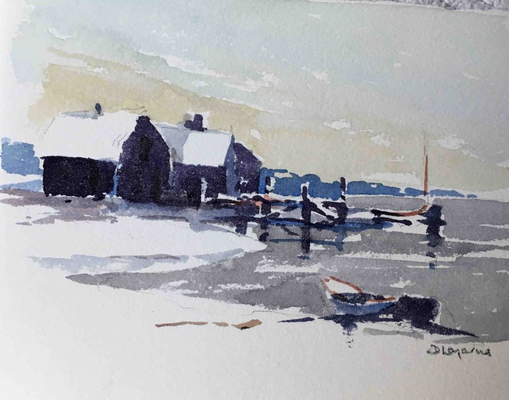 nantucket oil paints and downtown art scene