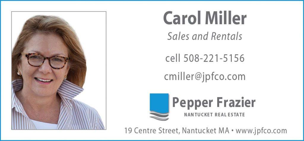 carol miller nantucket real estate
