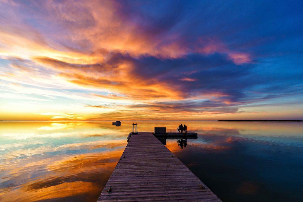 nantucket sunset wauwinet
