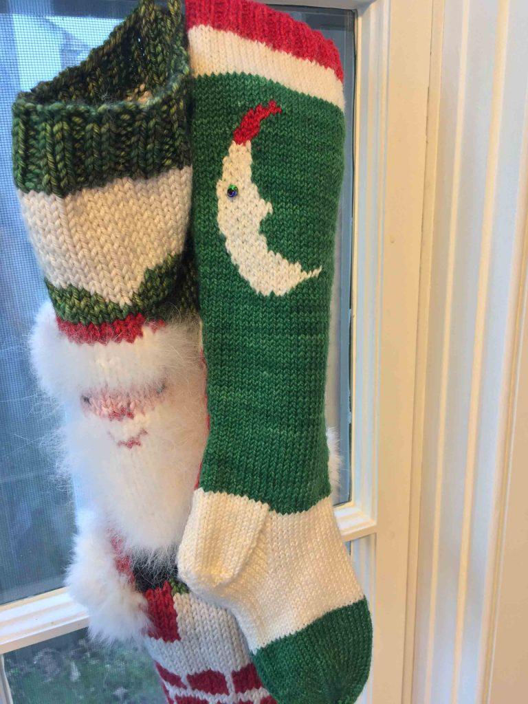 santa stocking nantucket
