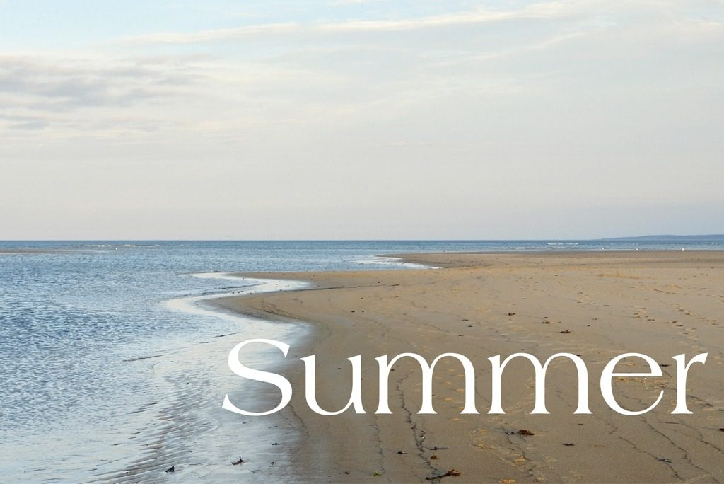 Summer Life on nantucket