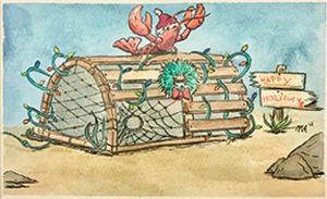 nantucket holiday art