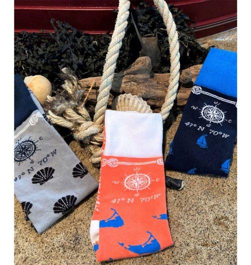 nantucket designer socks