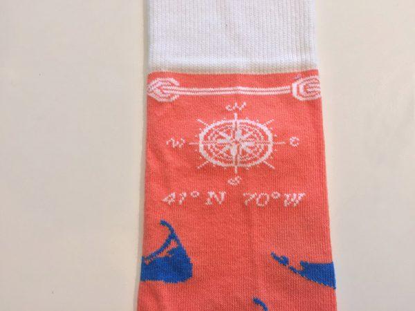 island life sock detail