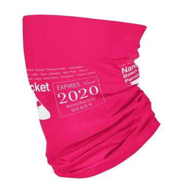 dark pink nantucket beach gaiter