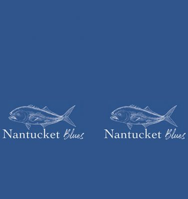 nantucket blues face covering flat view