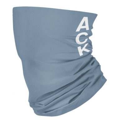 nantucket ACK face mask summer blue grey