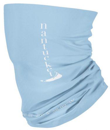 light blue face mask for beach nantucket