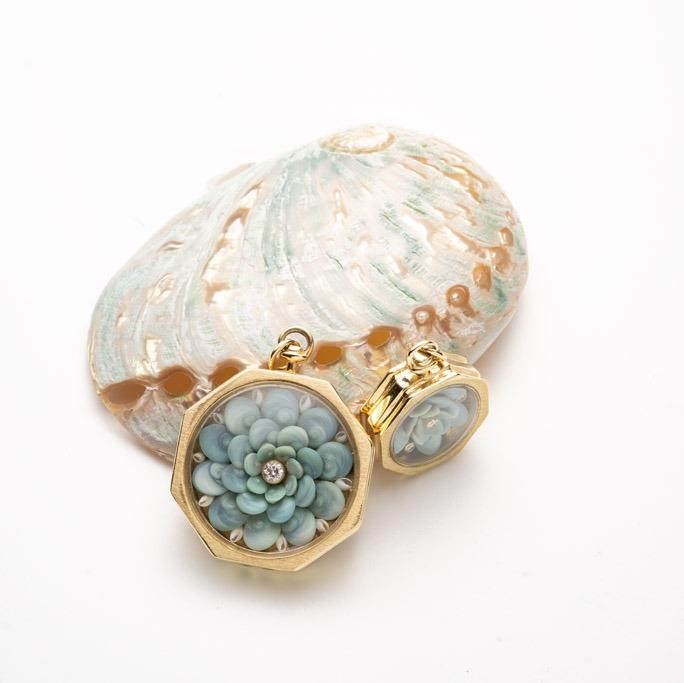 melissa dudley sailors valentine jewelry blue