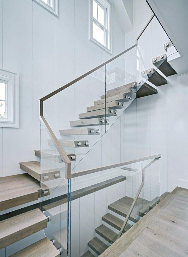 glass staircase nantucket emeritus design