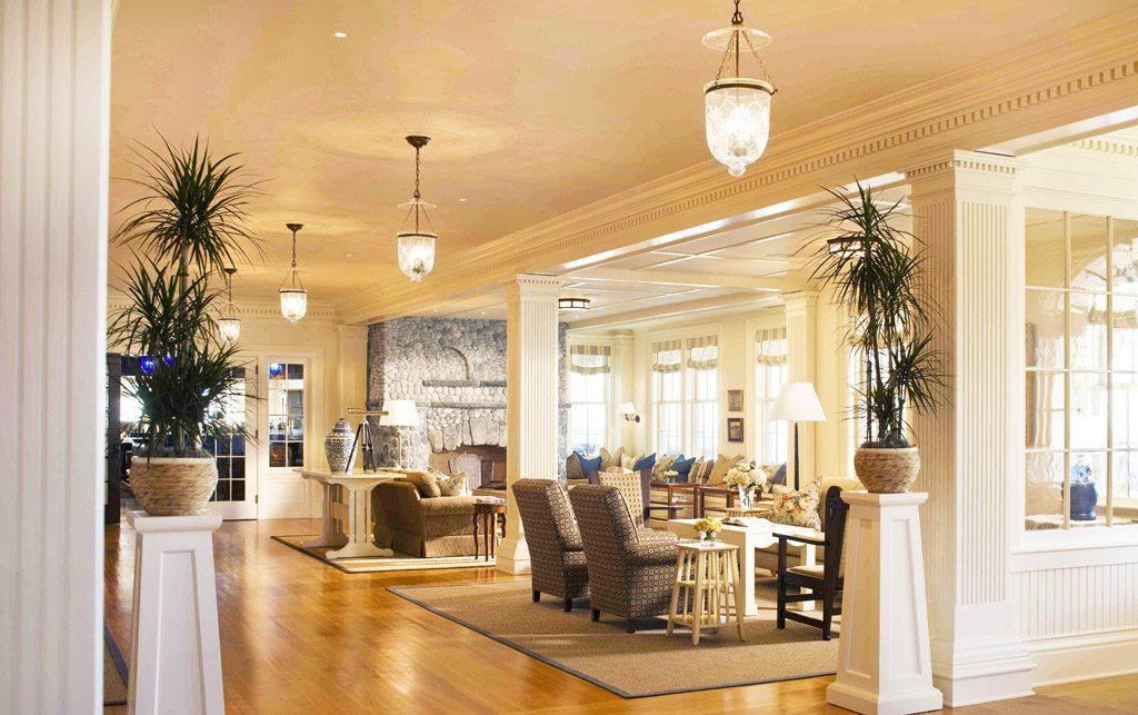 Ocean House lobby design interior
