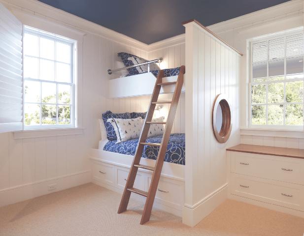 upside down house nantucket bunkbeds nautical and modern