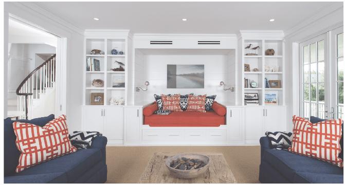 upside down house nantucket living room