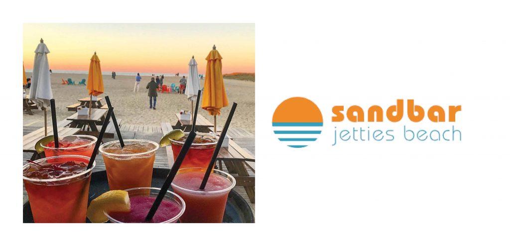 Cocktails at the Sandbar on Nantucket