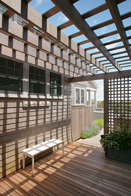 nantucket outdoor pergola