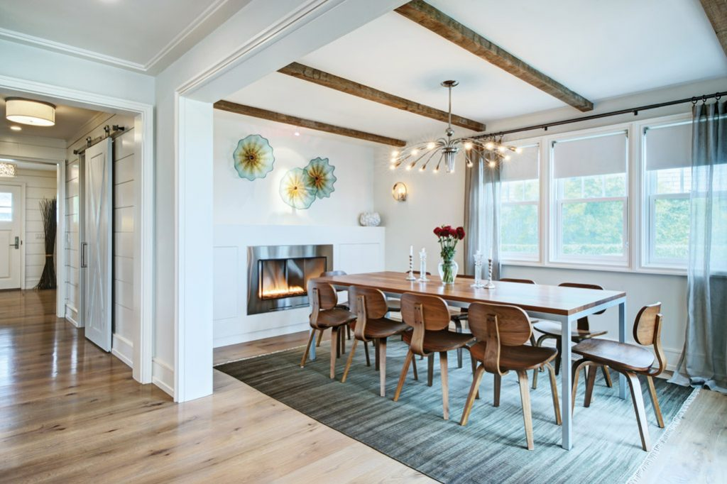 nantucket modern dining area