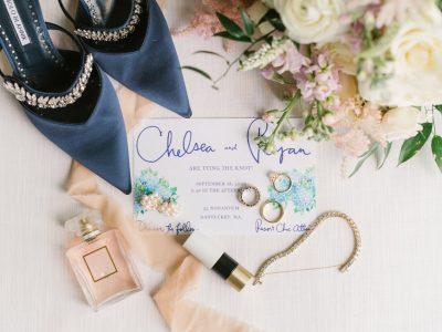 nantucket wedding details