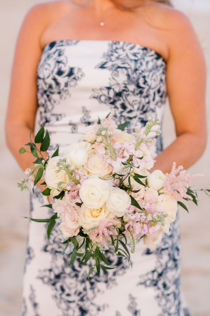nantucket bridal bouquet soiree floral