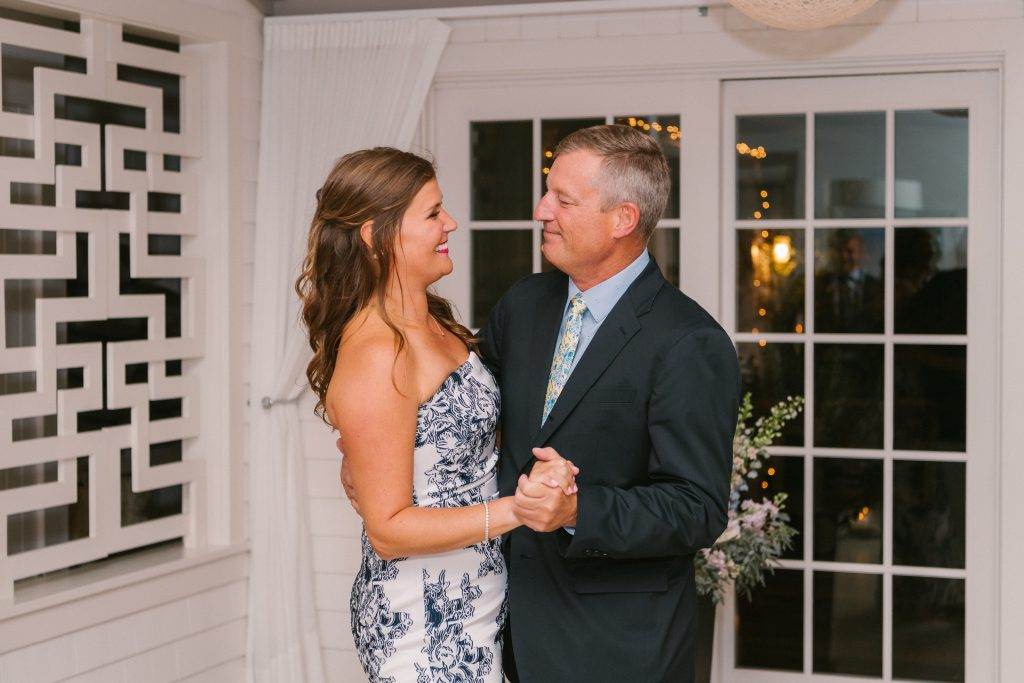 nantucket father daughter wedding dance